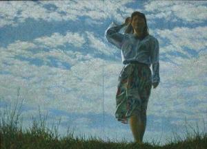 加地 守「風と歩く」