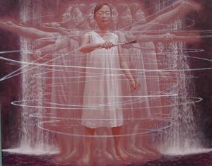 佐々木仙平「白い軌跡」