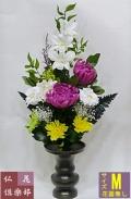 仏壇にブリザードの花