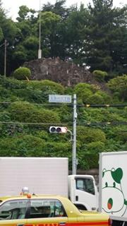 富士塚 全景