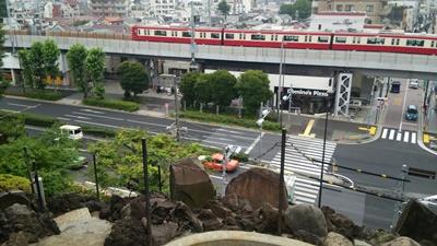 富士塚 頂上