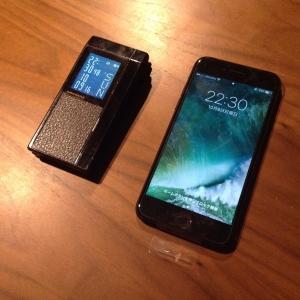 iPhoneへ変更。ケイタイ革命。