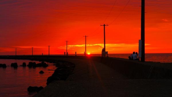 sunset at mikuni resize