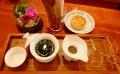 月餅とお茶