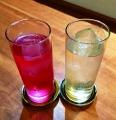 紫蘇と梅ジュース1