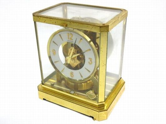 ジャガールクルト アトモス 空気時計 置き時計