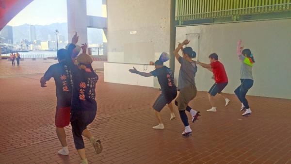 神戸楠公連 5.22 屋外練習