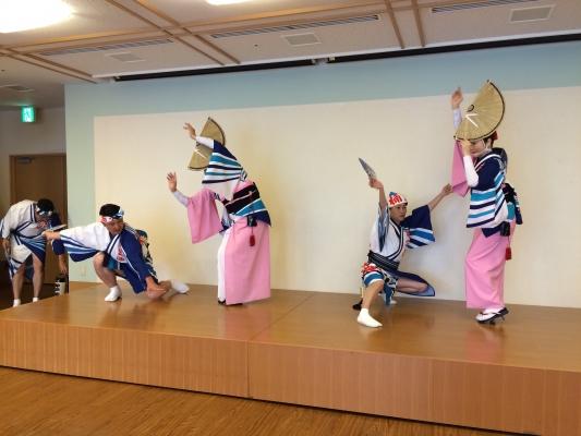 神戸楠公連 淡路ふくろうの郷 阿波踊り