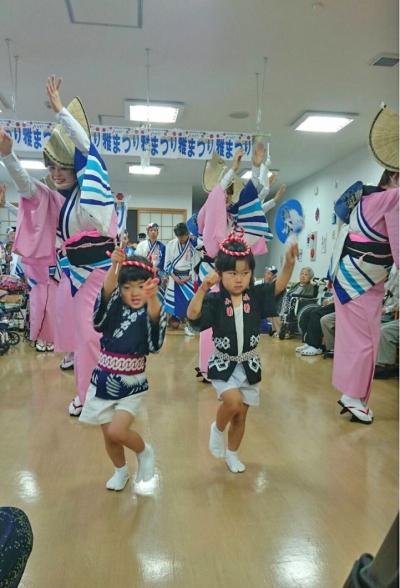 神戸楠公連 ハッピー雅 夏祭り 阿波踊り
