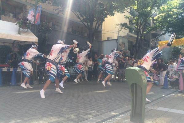 神戸楠公連 新開地商店街夏まつり 阿波踊り