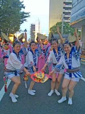 神戸楠公連 2016徳島阿波おどり