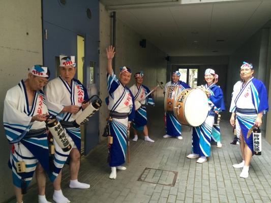 神戸楠公連 流通科学大学学園祭 阿波おどり