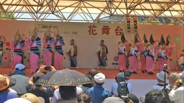 神戸楠公連 2016神戸まつり 女踊り