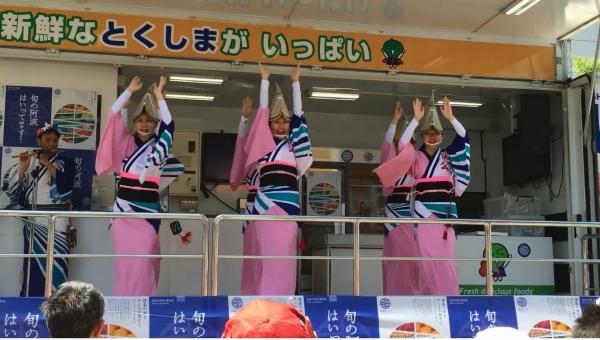 神戸楠公連 2016神戸まつり なっとくしま号 女踊り