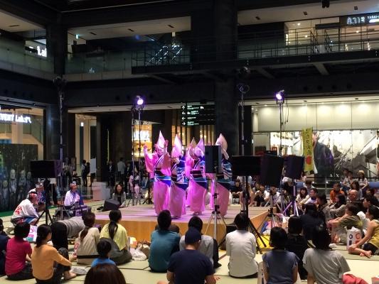 神戸楠公連 こたつ会議 サイレント阿波踊り