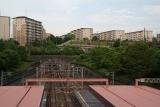 神戸市営地下鉄名谷駅,妙法寺方面のトンネル