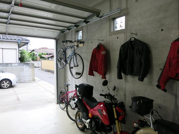 バイクハンガー取り付け⑪
