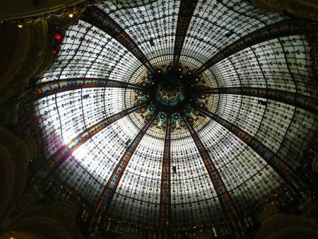 ギャラリー・ラファイエットのドーム天井