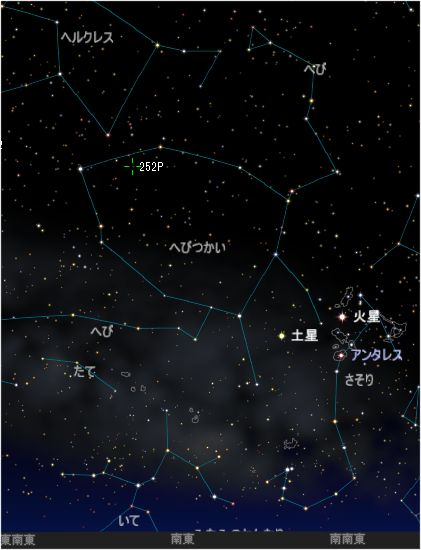 252P_リニア彗星_20160505M_iti