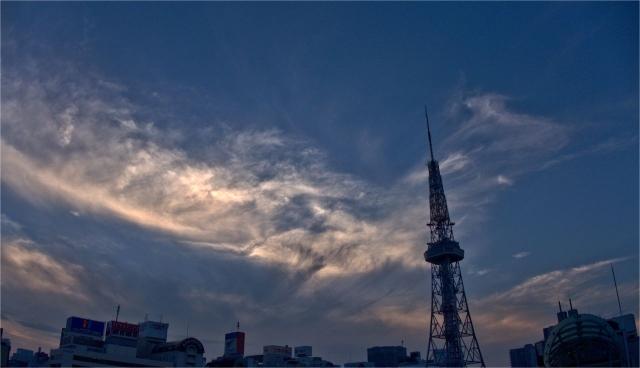 B20160621P_名古屋夕焼け_P1120666