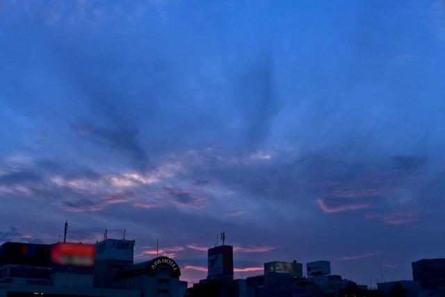 B20160621P_名古屋夕焼け_P1120693