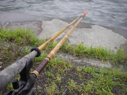 10尺竿の釣り