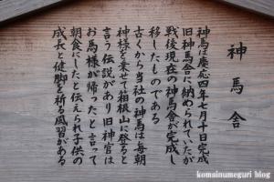 三島大社(静岡県三島市大宮)22