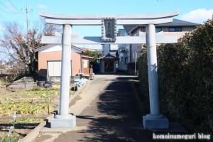 香取神社(北葛飾郡杉戸町並塚)2