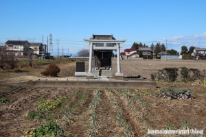 荒神社(北葛飾郡杉戸町並塚)1