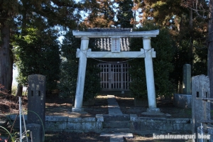 稲荷神社(北葛飾郡杉戸町堤根)2