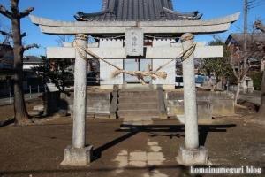 八幡神社(北葛飾郡杉戸町倉松)2