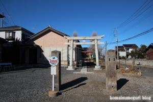 香取神社(北葛飾郡杉戸町倉松)1