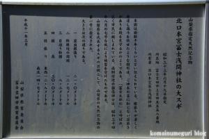 北口本宮冨士浅間神社(山梨県富士吉田市上吉田)48