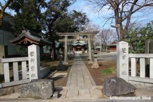 笹目神社(戸田市笹目)1