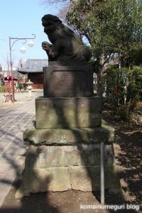 上戸田氷川神社(戸田市上戸田)20