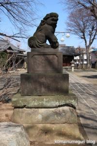 上戸田氷川神社(戸田市上戸田)24