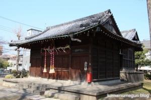 上戸田氷川神社(戸田市上戸田)11