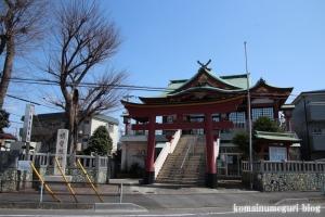 横曽根神社(川口市南町)1