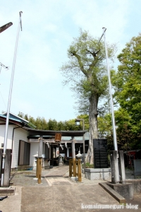 白山神社(多摩市連光寺)1