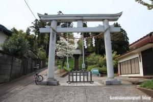 熊野神社(多摩市関戸)1