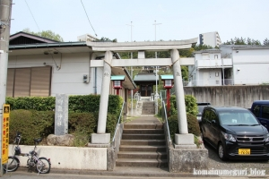 御嶽神社(多摩市永山)1
