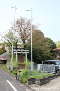 貝取神社(多摩市豊ヶ丘)1