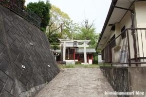 八坂神社(多摩市愛宕)1