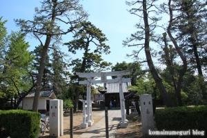 氷川神社(足立区古千谷本町)1