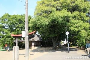 諏訪神社(足立区舎人)1