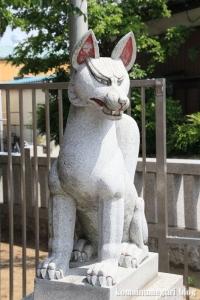 皿沼稲荷神社(足立区皿沼)5