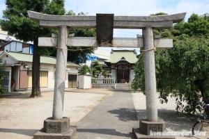 稲荷神社(川口市東領家)2