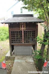 糀屋氷川神社(足立区鹿浜)9