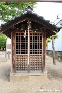 島氷川神社(足立区鹿浜)4