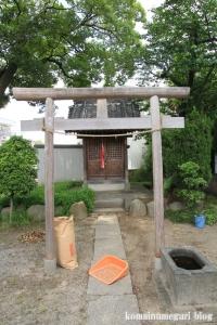 島氷川神社(足立区鹿浜)8
